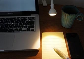 快適空間を作る その2   照明のONとOFFで仕事モードに切り替えよう